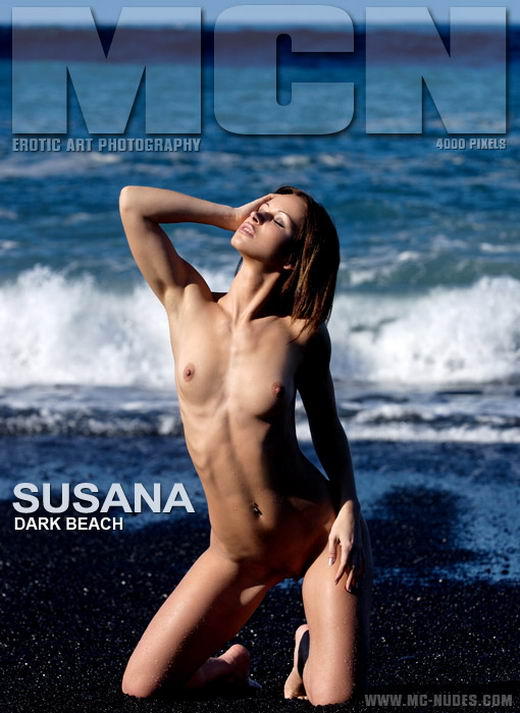 Susana - `Dark Beach` - for MC-NUDES