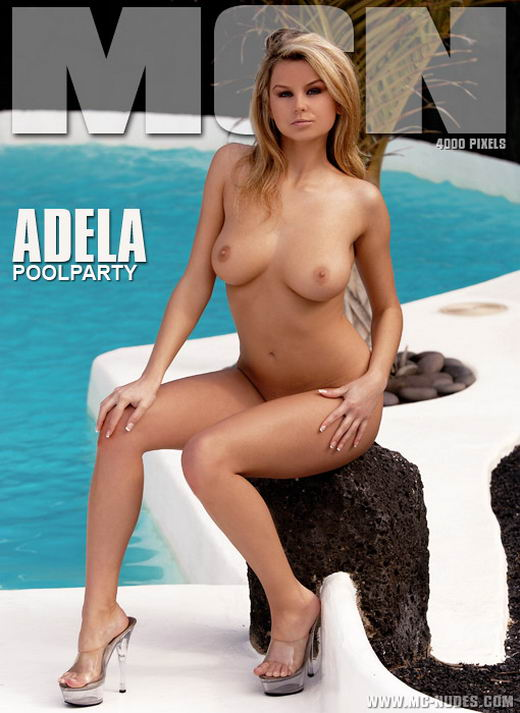 Adela - `Poolparty` - for MC-NUDES