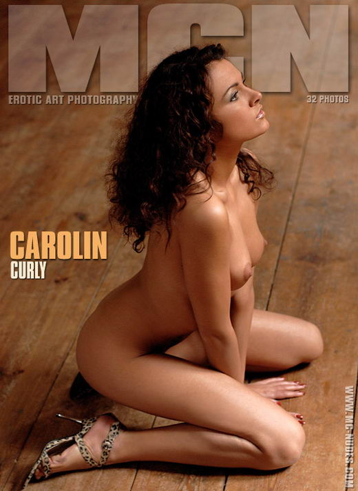 Carolin in Curly gallery from MC-NUDES