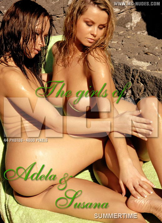 Adela & Susana in Summertime gallery from MC-NUDES