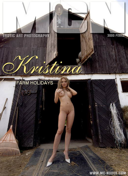Kristina - `Farm Holidays` - for MC-NUDES