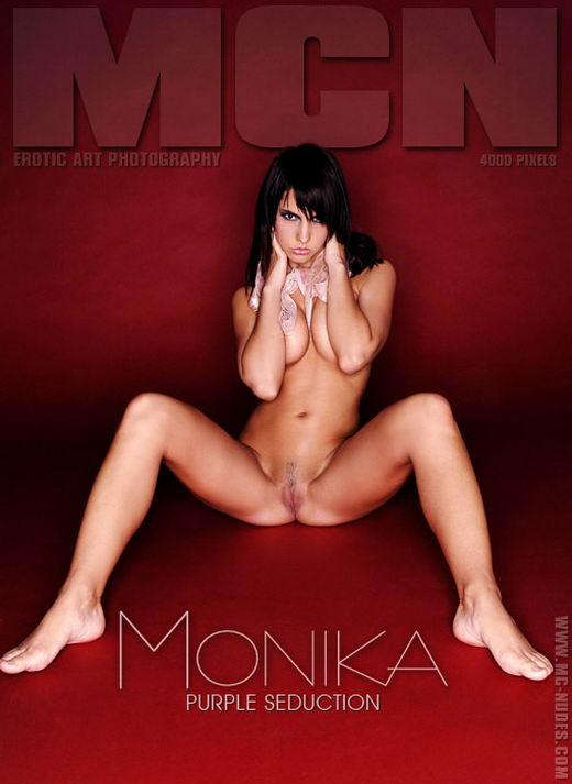Monika - `Purple Seduction` - for MC-NUDES
