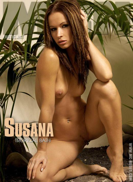 Susana - `Tropical Bath` - for MC-NUDES
