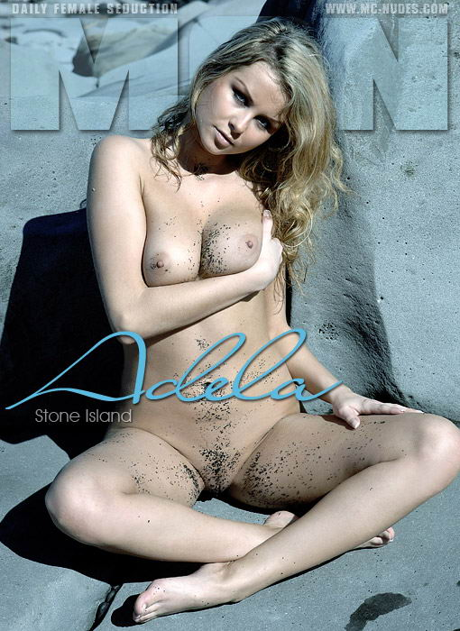 Adela - `Stone Island` - for MC-NUDES