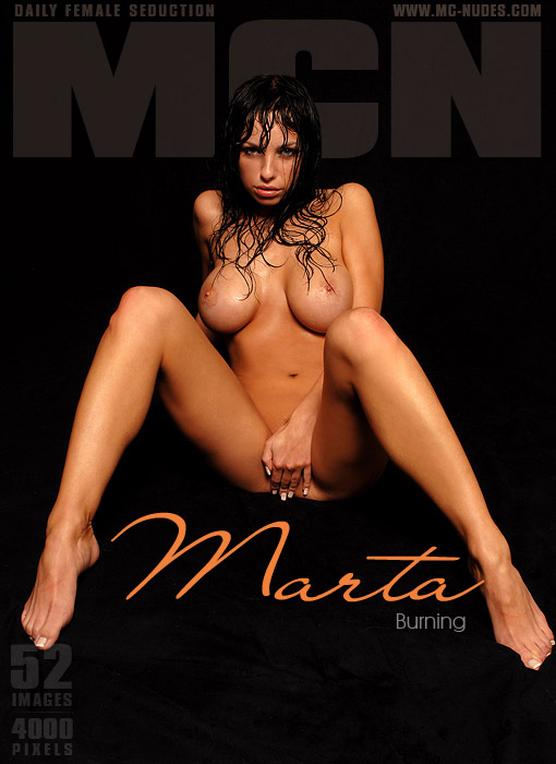 Marta - `Burning` - for MC-NUDES