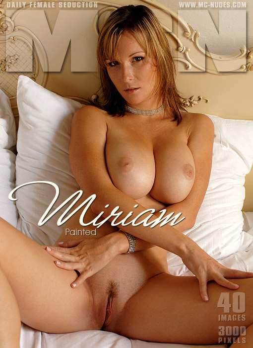 Miriam - `Painted` - for MC-NUDES