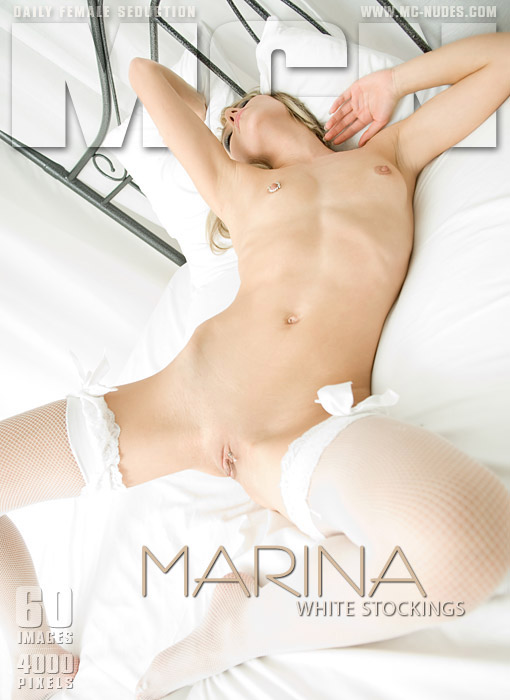 Marina - `White Stockings` - for MC-NUDES
