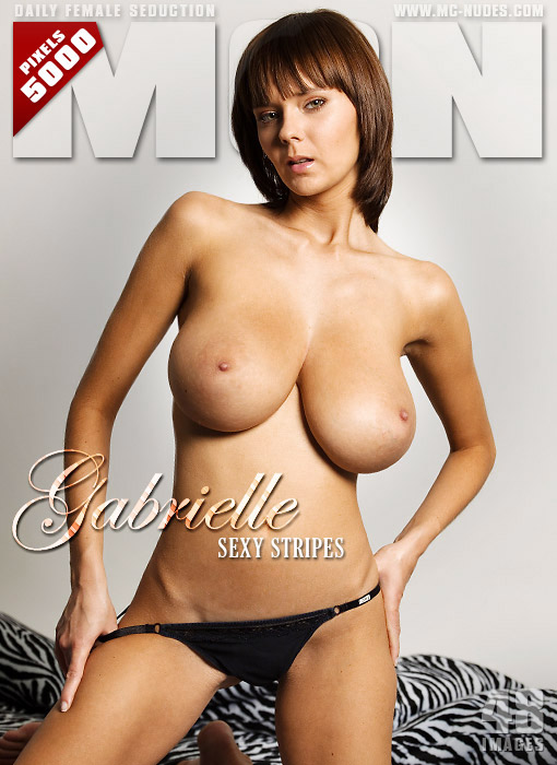 Gabrielle - `Sexy Stripes` - for MC-NUDES