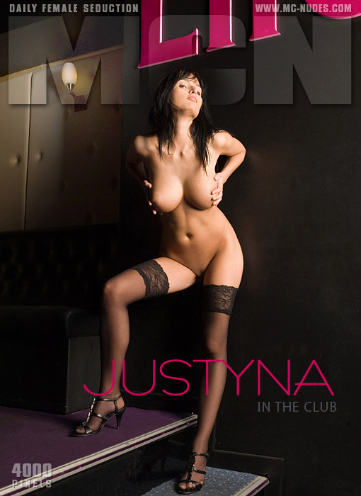 Justyna - `In The Club` - for MC-NUDES