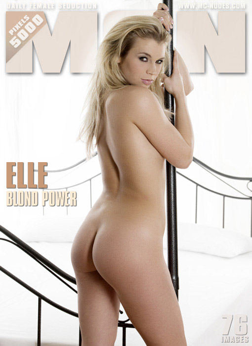 Elle - `Blond Power` - for MC-NUDES