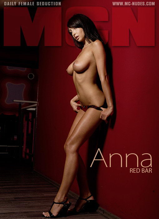 Anna - `Red Bar` - for MC-NUDES