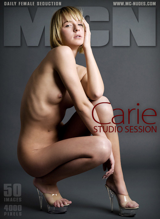Carie - `Studio Session` - for MC-NUDES