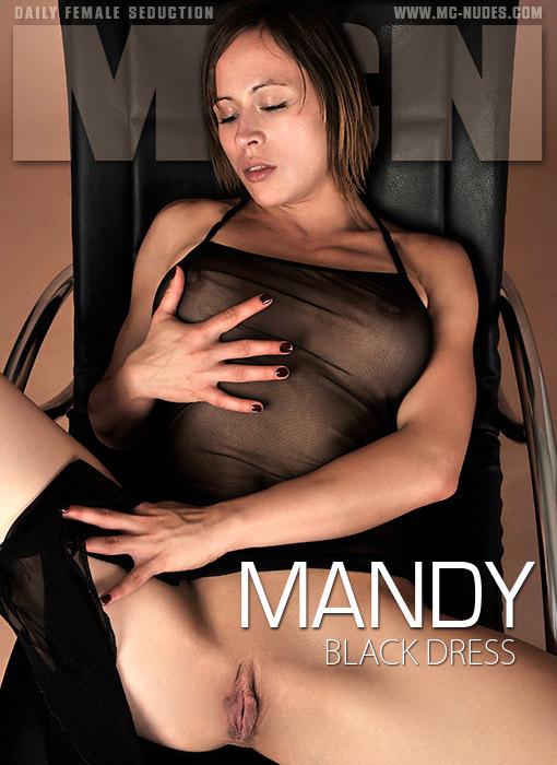 Mandy - `Black Dress` - for MC-NUDES