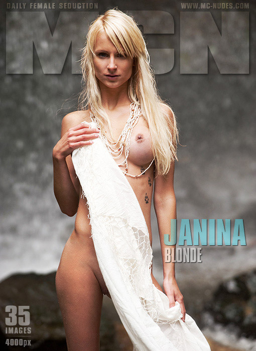 Janina - `Blonde` - for MC-NUDES