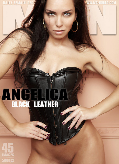 Angelica - `Black Leather` - for MC-NUDES