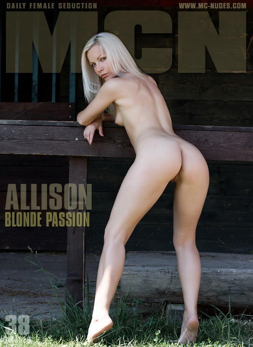 Allison - `Blonde Passion` - for MC-NUDES