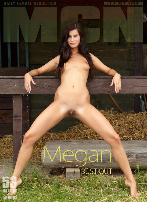 Megan - `Bust Out` - for MC-NUDES
