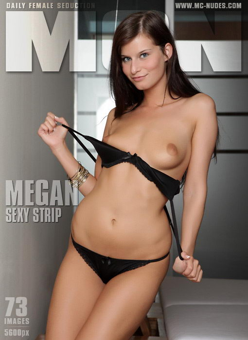 Megan - `Sexy Strip` - for MC-NUDES