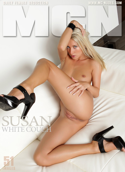 Susan - `White Couch` - for MC-NUDES