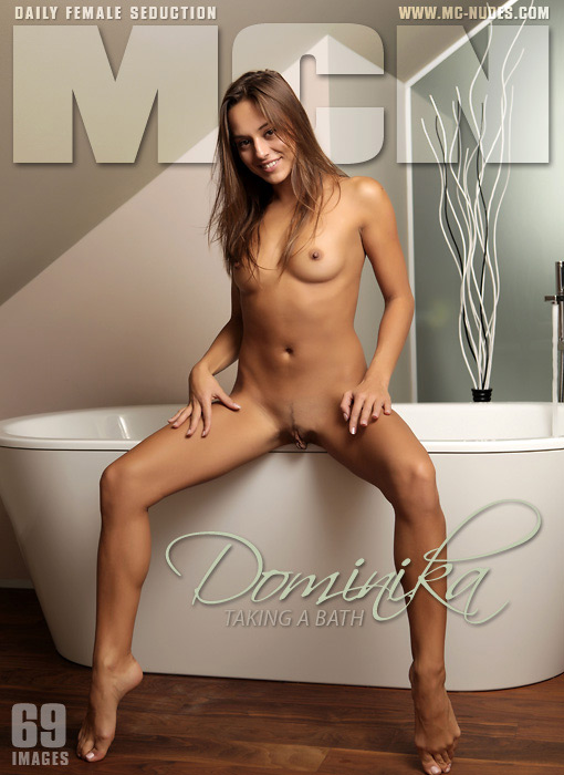 Dominika - `Taking A Bath` - for MC-NUDES