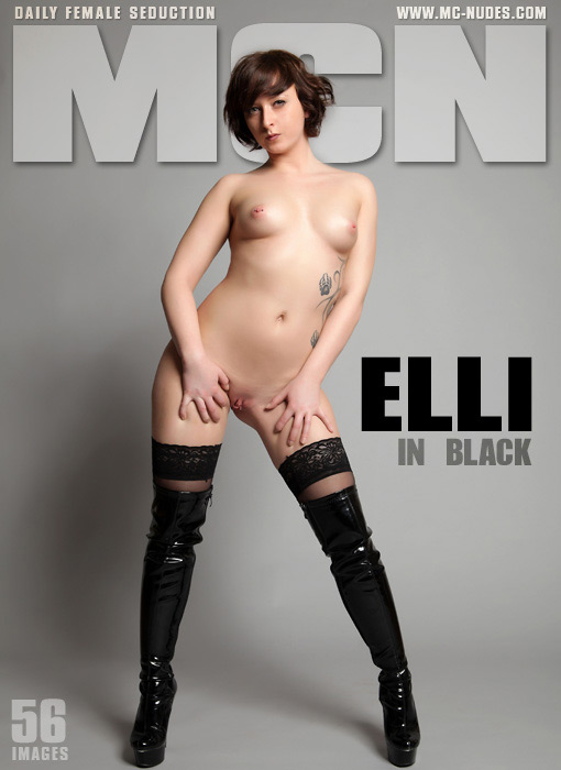 Elli - `In Black` - for MC-NUDES