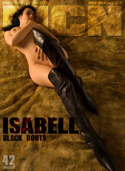 Isabell - `Black Boots` - for MC-NUDES
