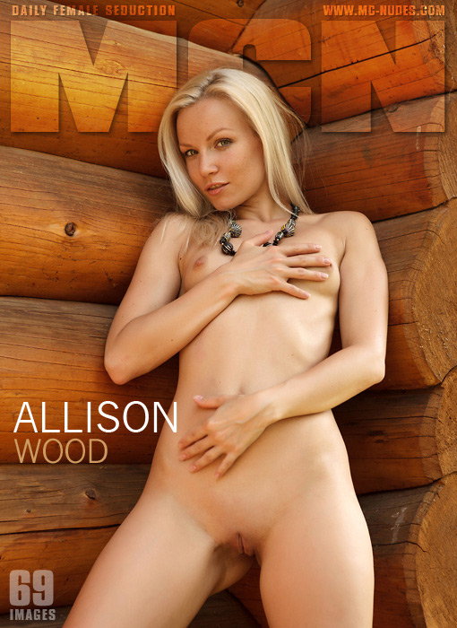 Allison - `Wood` - for MC-NUDES