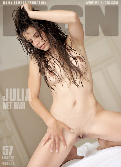Julia - `Wet Hair` - for MC-NUDES