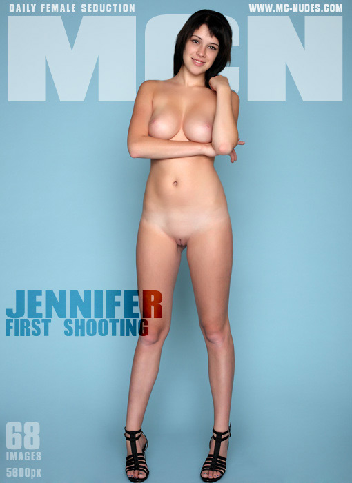Jennifer - `First Shooting` - for MC-NUDES