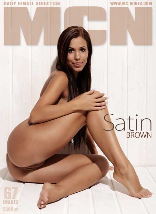 Satin - `Brown` - for MC-NUDES