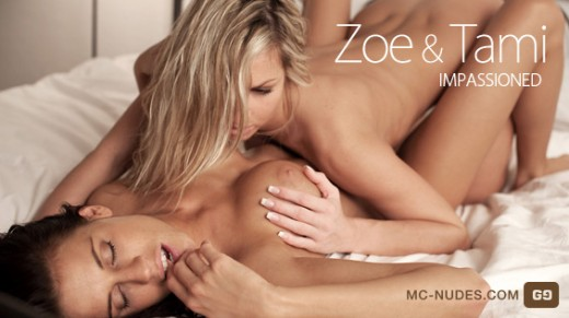 Zoe & Tami - `Impassioned` - for MC-NUDES