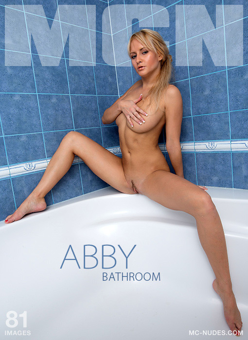Abby - `Bathroom` - for MC-NUDES