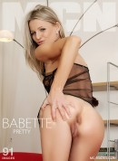 Babette in Pretty gallery from MC-NUDES