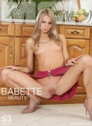 Babette in Beauty gallery from MC-NUDES