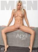 April - Grey