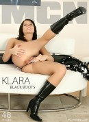 Klara P in Black Boots gallery from MC-NUDES