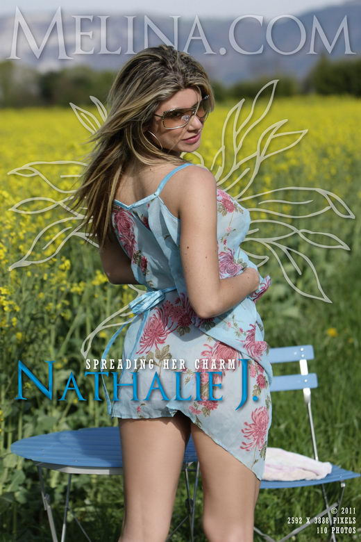 Nathalie J - `Spreading her Charm` - for MELINA