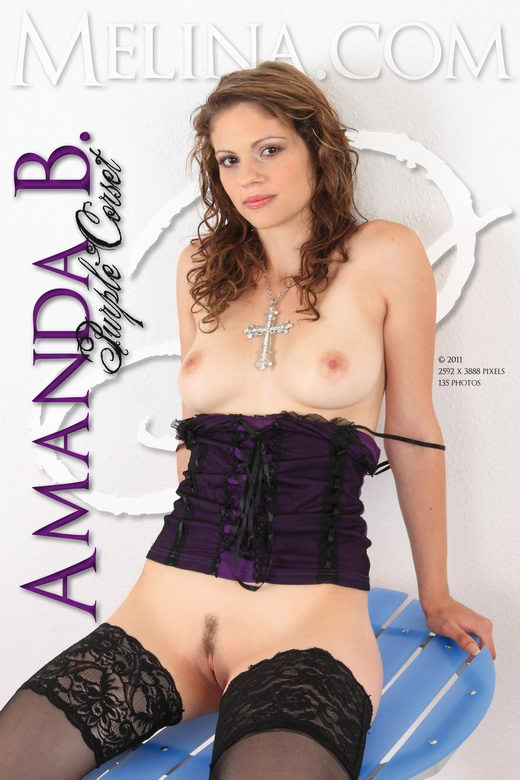 Amanda B - `Purple Corset` - for MELINA