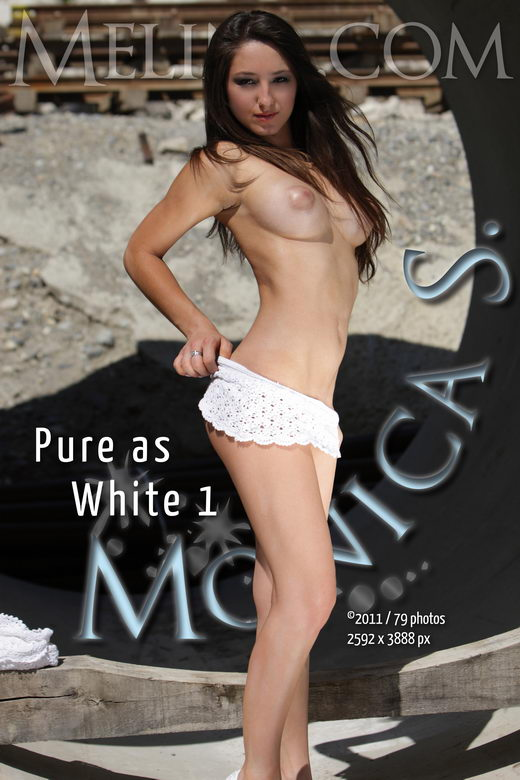 Monica S - `Pure as White I` - for MELINA