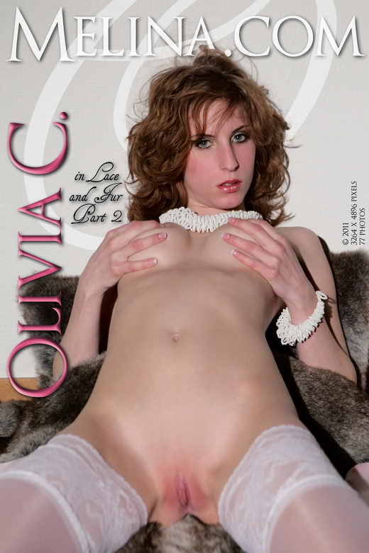 Olivia C - `In Lace and Fur II` - for MELINA