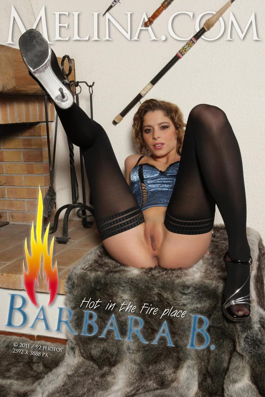 Barbara B - `Hot in the Fire Place` - for MELINA