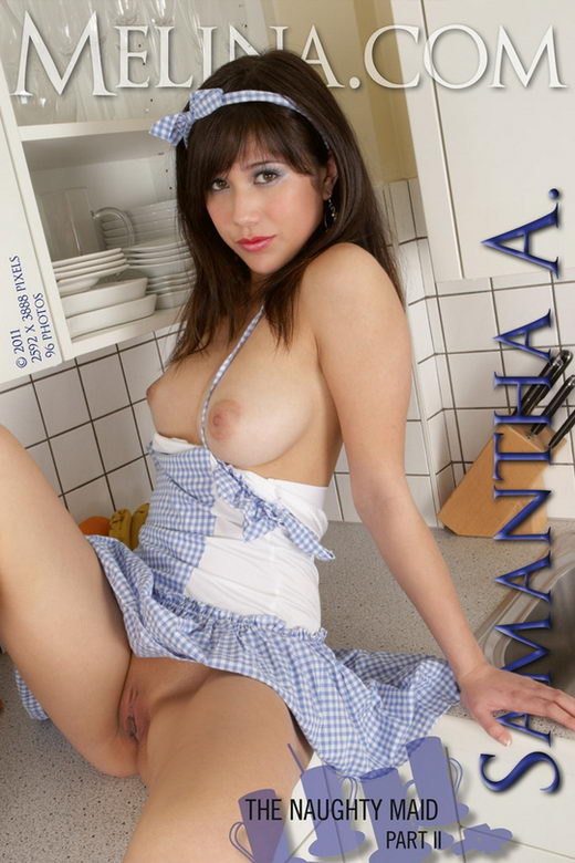 Samantha A - `The Naughty Maid II` - for MELINA