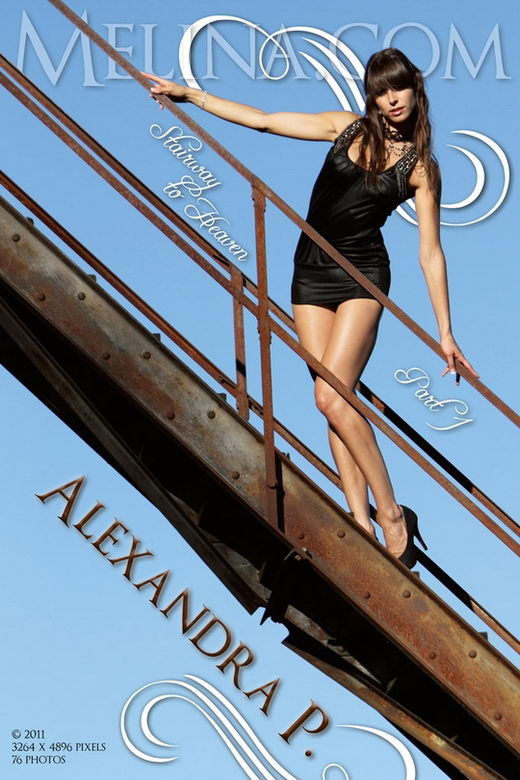 Alexandra P - `Stairway to Heaven I` - for MELINA