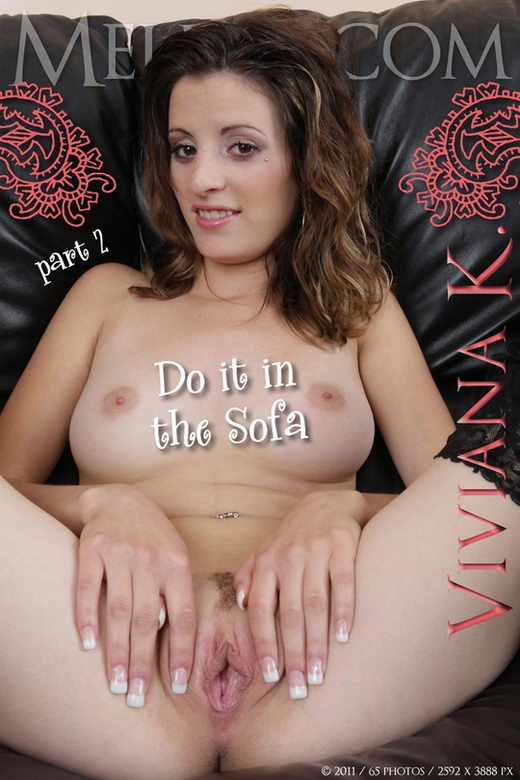 Viviana K - `Do it in the Sofa II` - for MELINA