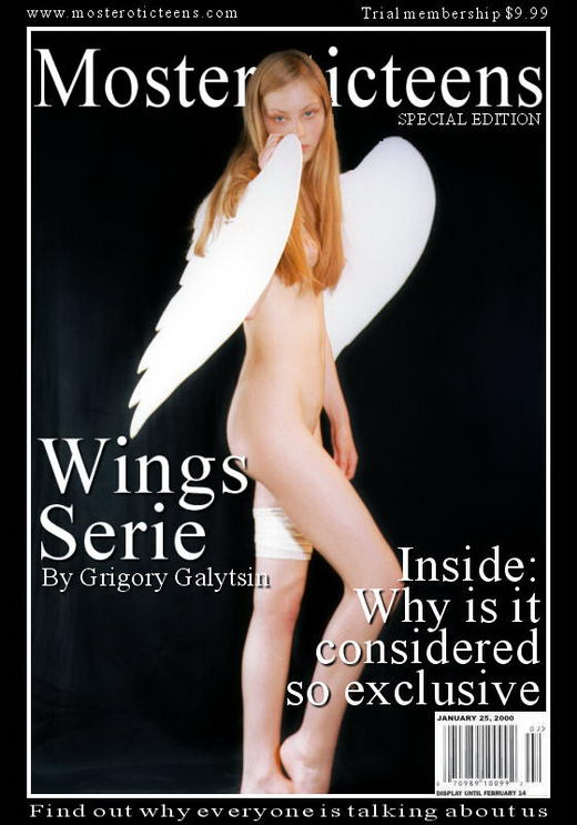 `Wings Serie` - by Galitsin for METART ARCHIVES