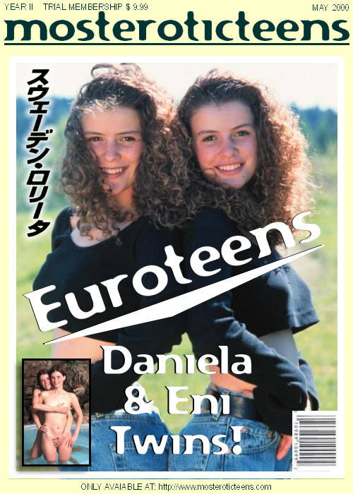 Daniela & Eni - `Euroteens` - for METART ARCHIVES