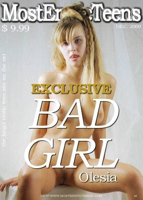 Olesia - `Bad Girl 02` - by Galitsin for METART ARCHIVES