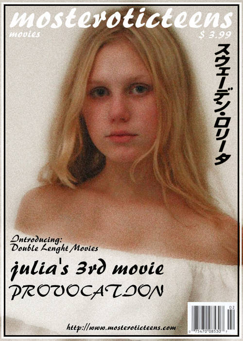 Julia A - `Julia's 3rd Movie_Provocation [00'03'52] [MPG] [480x704]` - for METART ARCHIVES