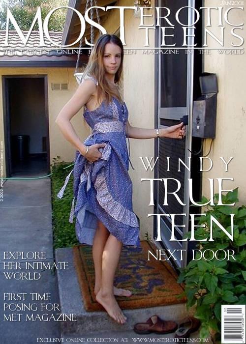 Windy - `True Teen Next Door` - for METART ARCHIVES