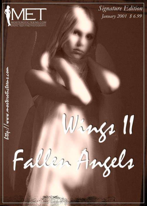Julia - `Wings II Fallen Angel` - for METART ARCHIVES